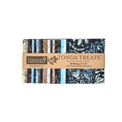 "Timeless Treasures Tonga Batik Painter 5"" Squares"