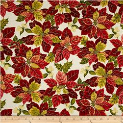 Holiday Opulence Poinsettia Cream