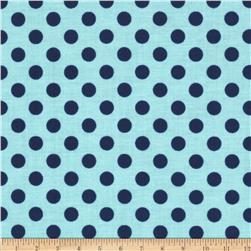 Riley Blake Small Dots Tone on Tone Navy