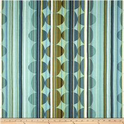 Contempo Dwellings Beaded Stripe Aqua