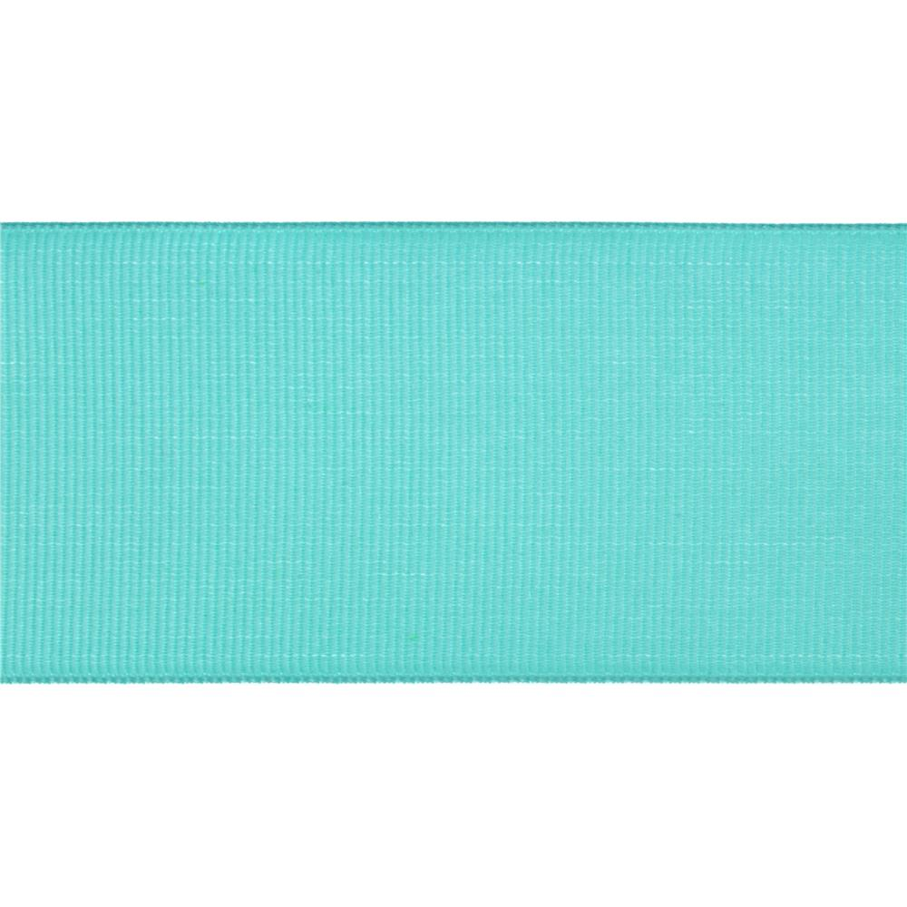 "2"" Grosgrain Wired Ribbon Turquoise"
