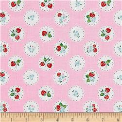 Penny Rose Strawberry Biscuit Scallop Pink
