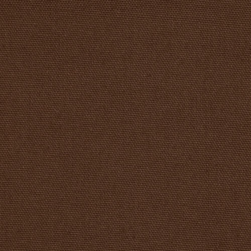 Cotton broadcloth cocoa brown discount designer fabric for Cheap cloth material