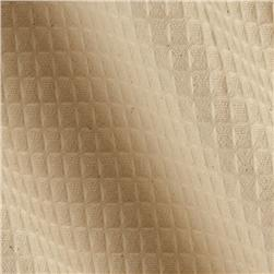 45'' Waffle Cloth Natural Fabric