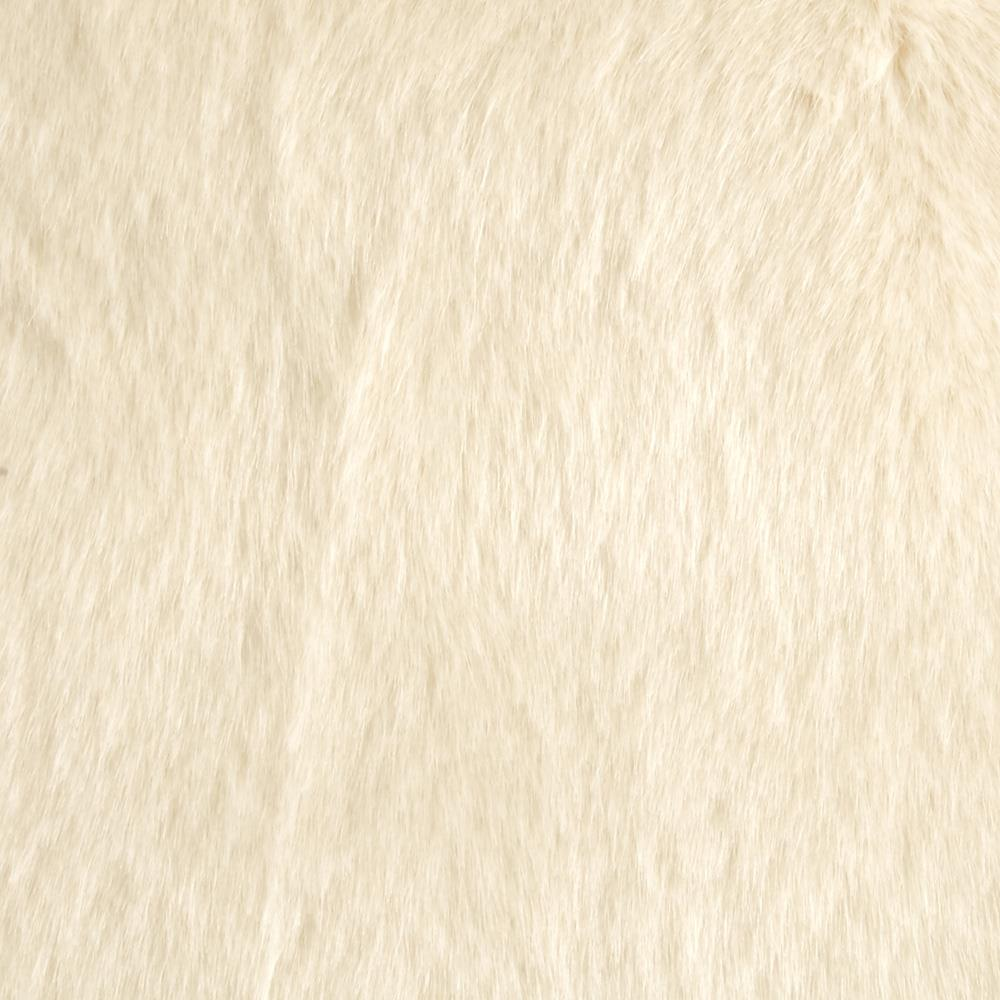 Tissavel Luxury Faux Fur Siberia Creme
