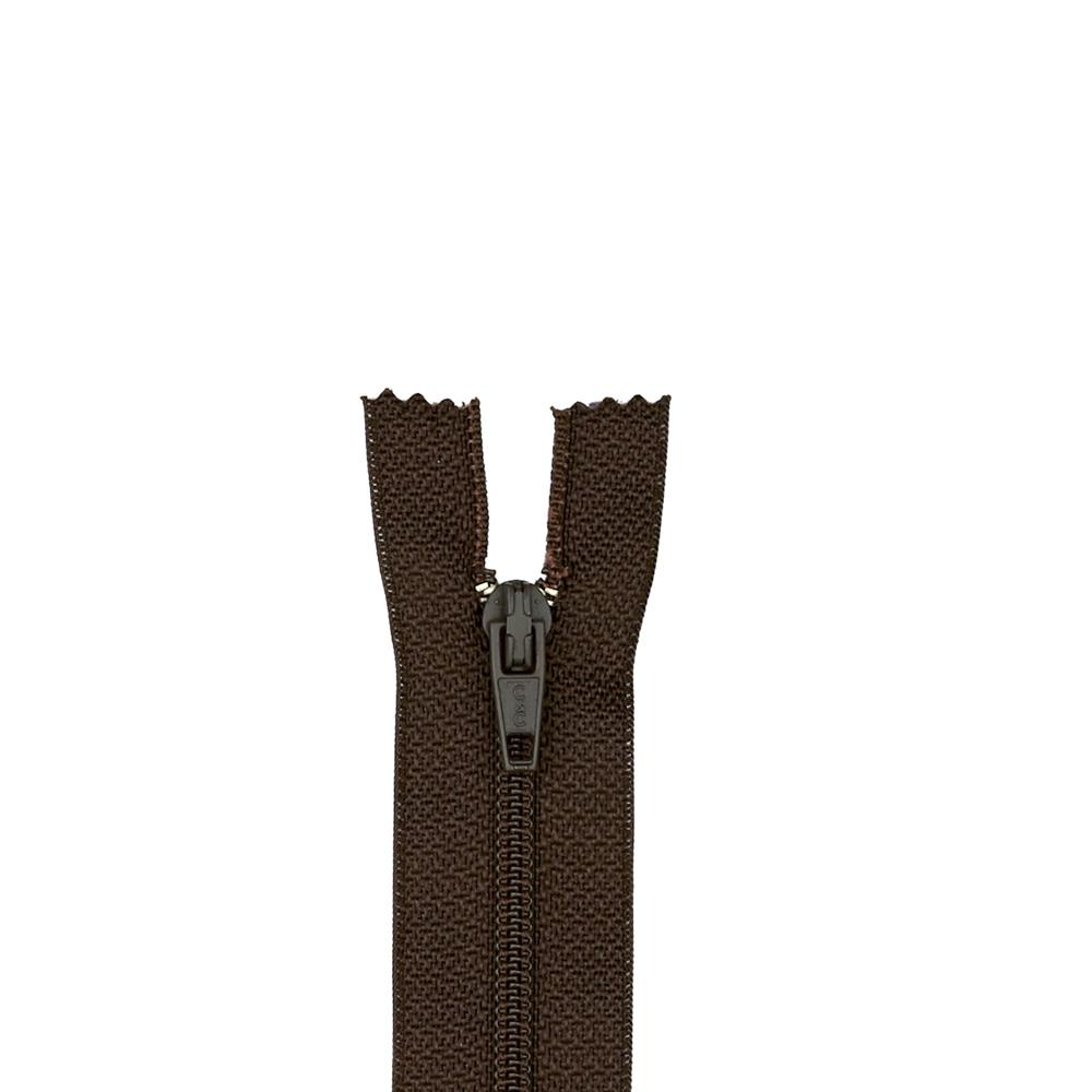 "Trouser Zipper 11"" Cloister Brown"