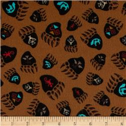 Kanvas Totem Flannel Bear Claw Brown
