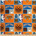 NBA Cotton Broadcloth NY Knicks Multi