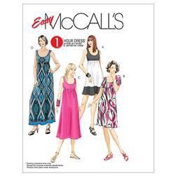 McCall's Misses'/Women's Dresses In 4 Lengths Pattern M5893
