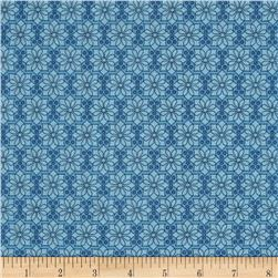 The Color Collection Daisy Plaid Blue Fabric