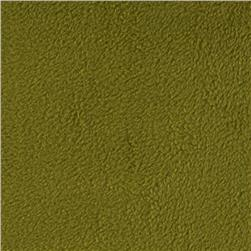 Warm Winter Fleece Solid Harvest Olive