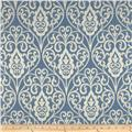 Waverly Williamsburg Bristol Scroll Jacquard Cornflower