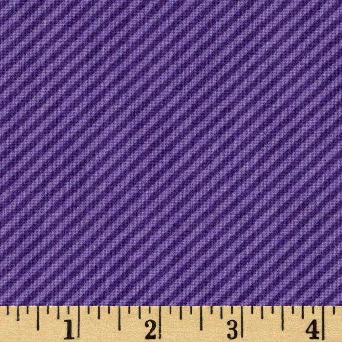 Curiosities Diagonal Stripe Amethyst