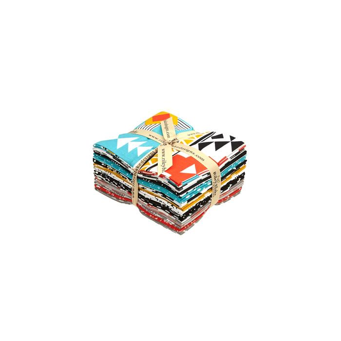 Riley Blake Four Corners Fat Quarter Multi