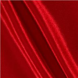 Poly Crepeback Satin Red