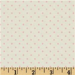 Riley Blake La Creme Basics Swiss Dots Cream/Baby