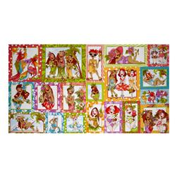 "Loralie Designs Hu Lala 23.5"" Panel Multi"