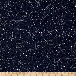 Robert Kaufman Night Sky Stars Midnight