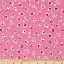 Lecien Flower Sugar Small Rose Toss Pink
