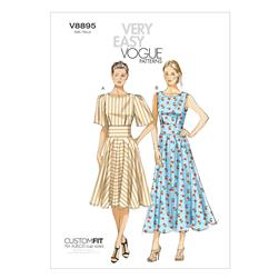 Vogue Misses' Dress Pattern V8895 Size B50