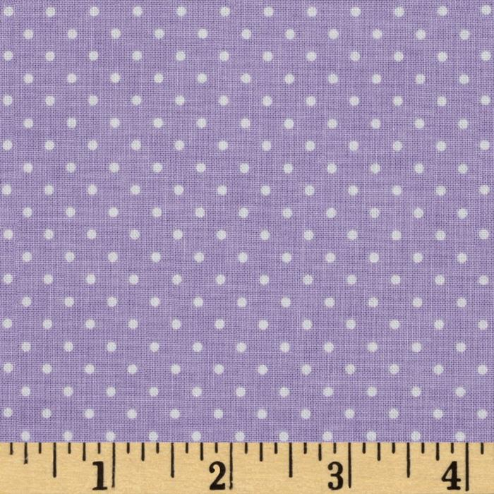 Riley Blake Swiss Dots Lavendar