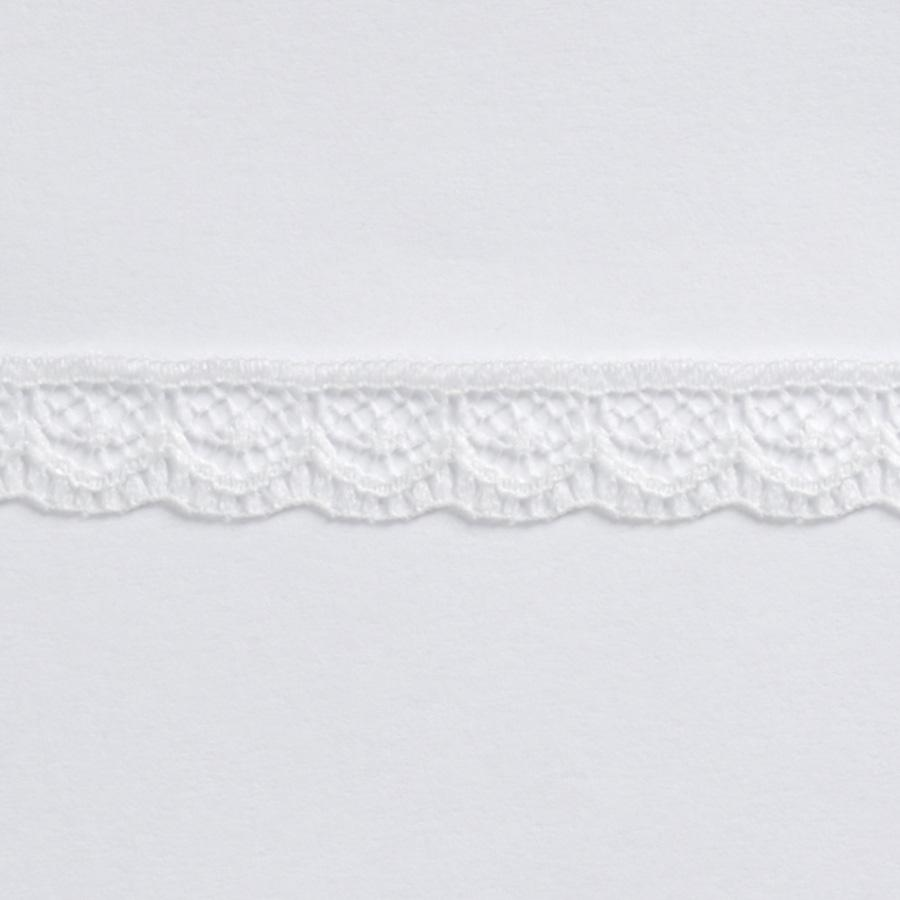 "3/8"" Lace Ribbon Trim Ivory"