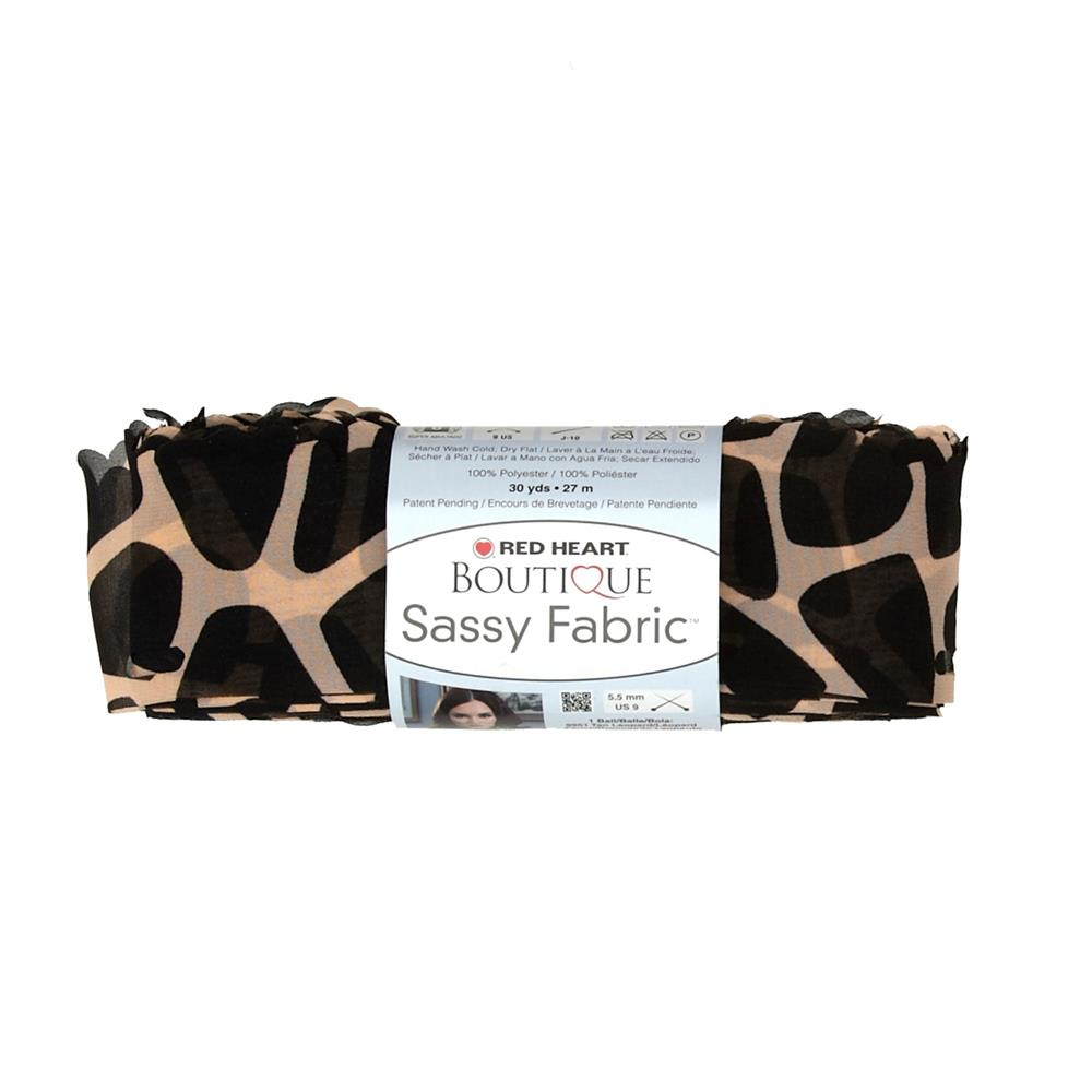 Red Heart Yarn Boutique Sassy Fabric Giraffe
