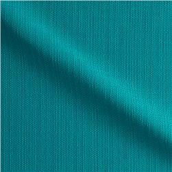 Suntastic Outdoor Basketweave O'Top Linen Turquoise