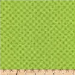 Timeless Treasures Pin Dots Lime