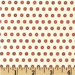 Penny Rose 19th Century Shirtings Envelopes Red