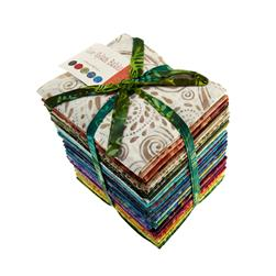 Moda Color Splash Batiks Fat Quarter Assortment