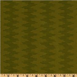 City Girl Wavy Stripe Olive Green