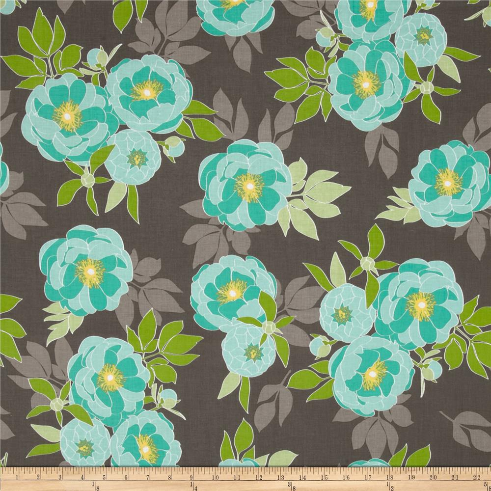 Riley Blake The Cottage Garden Large Floral Gray