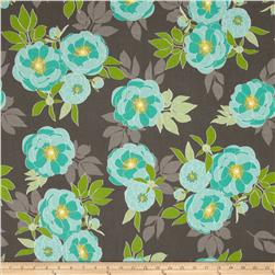 Riley Blake The Cottage Garden Large Floral Grey