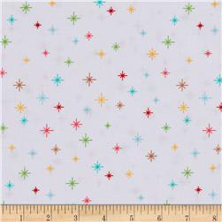 Riley Blake Cozy Christmas Sparkle White