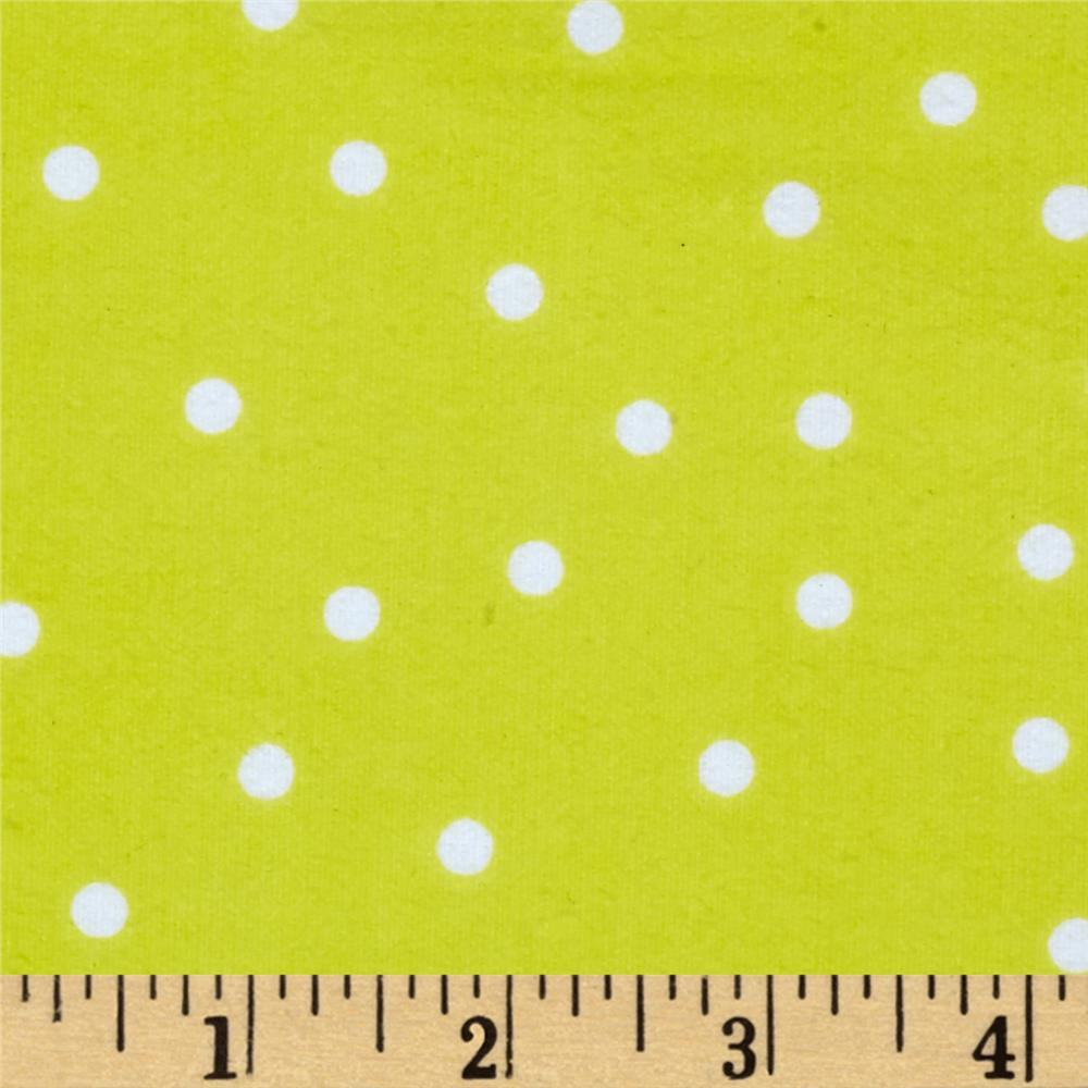 Essentials Flannel A Dot is a Dot Yellow