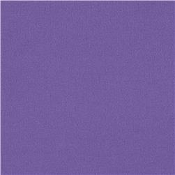 Brushed Poly Lycra Jersey Knit Solid Lavender Fabric