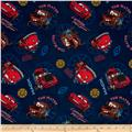 Disney Pixar Cars Allover Blue