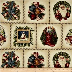 Candy Coated Christmas Patchwork Cream