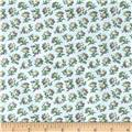 Primrose Mini Floral Dove Grey