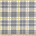 Riley Blake When Skies are Grey Sparkle Plaid White