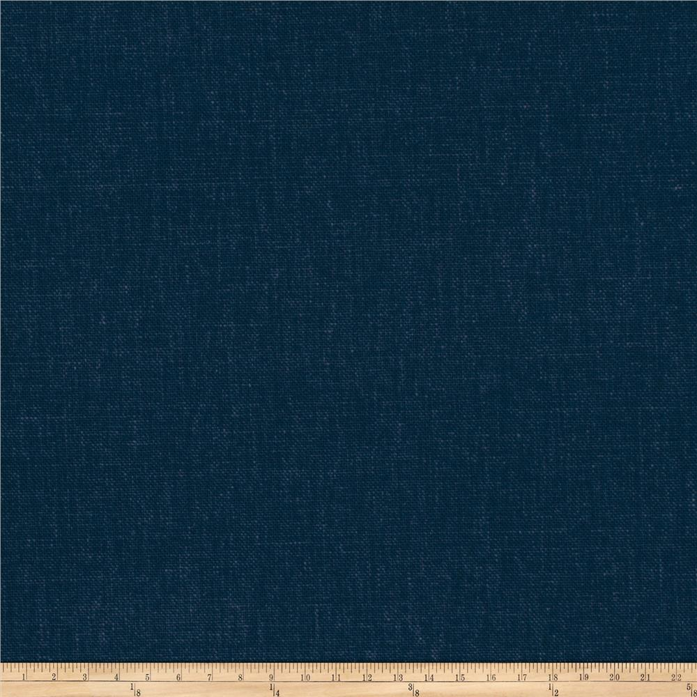 Fabricut Principal Brushed Cotton Canvas Midnight