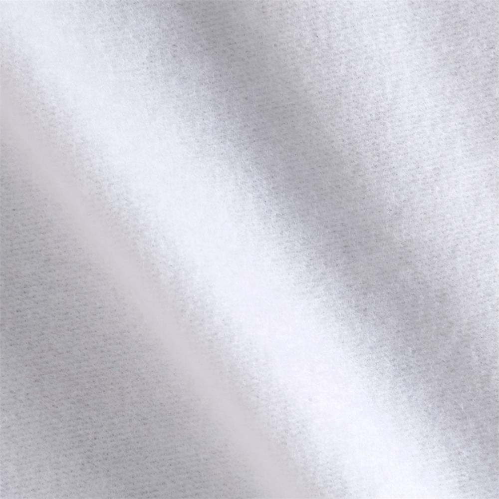Rayon Sweatshirt Fleece Optic White Fabric