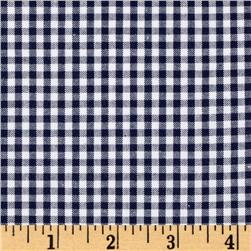 Woven 1/8'' Carolina Gingham Navy