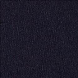 Kaufman Denim Pique Knit Indigo 8.8 Oz Fabric