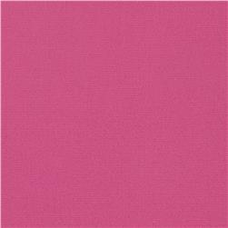 Stretch Cotton Twill Pink Flamingo Fabric