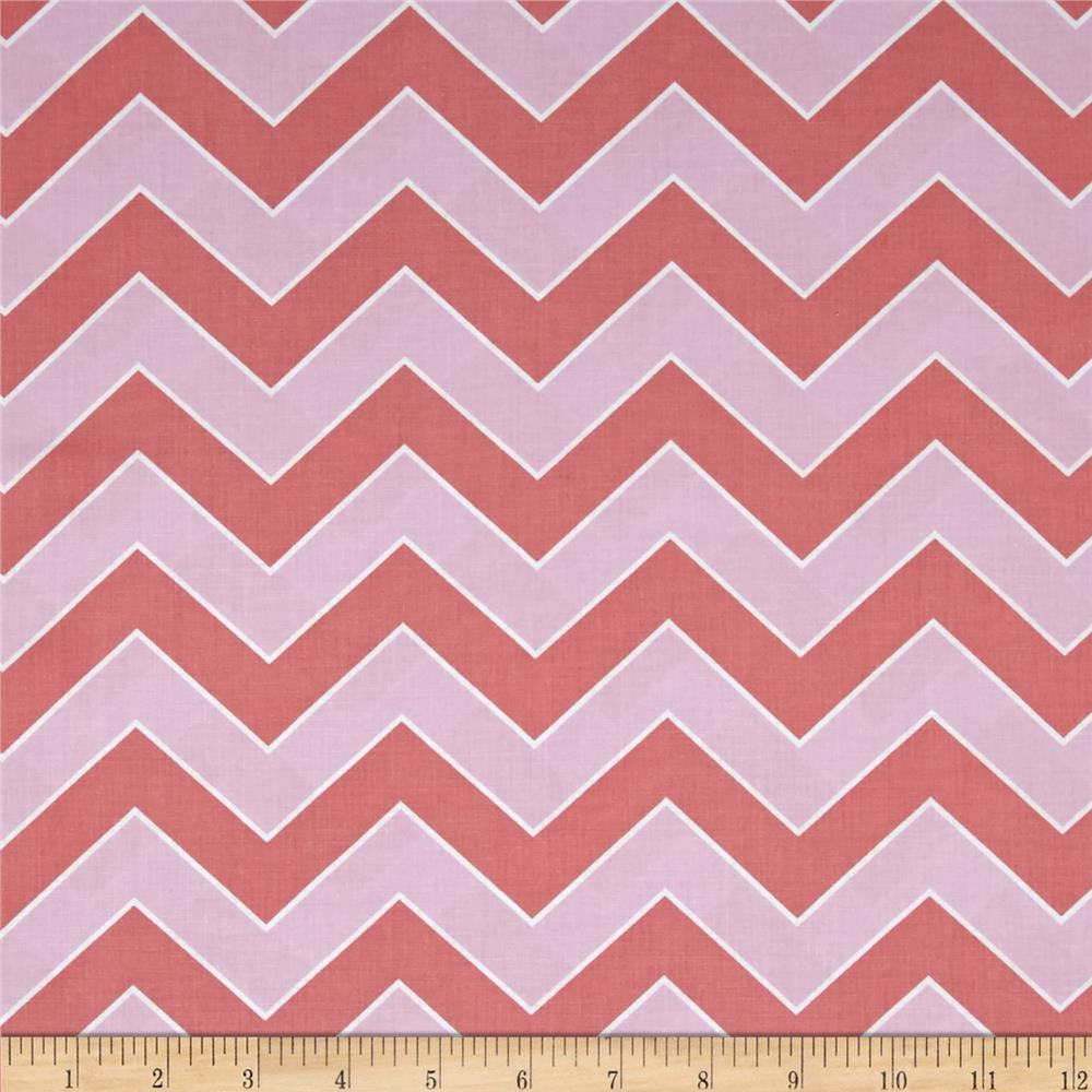 Haute Girls Chevron Pink
