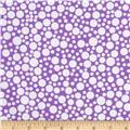Michael Miller Zoo Littles Girls Things Play Dot Purple