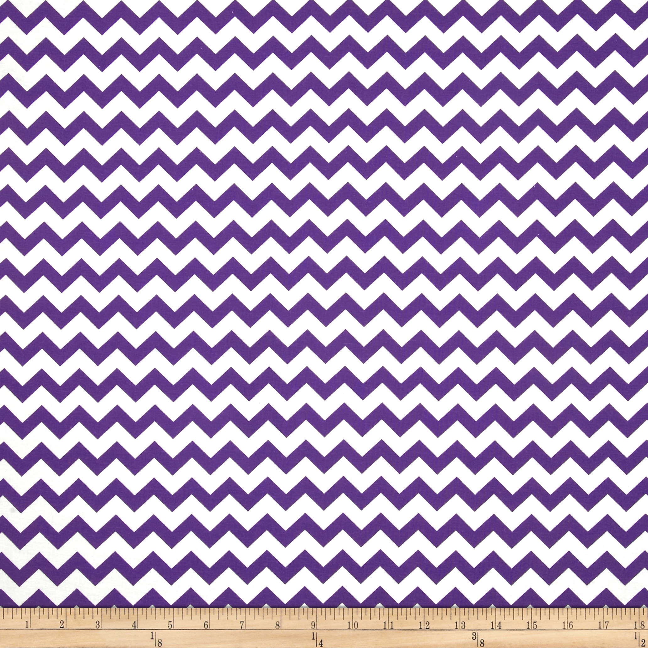 Chevron Purple Fabric