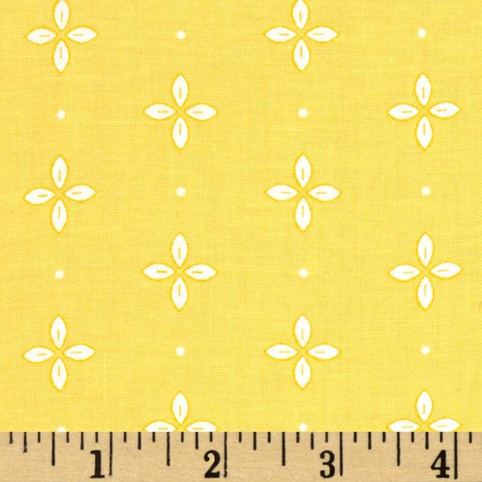 Wallflowers Foulard Yellow